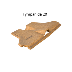Tympan Obturateur Rectolight pour hourdis de 20