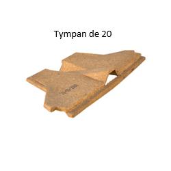 Tympan Obturateur Rectolight pour hourdis de 20