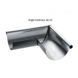 Angle de Gouttière Zing de 25