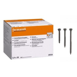 Boite de 1000 Vis Autoperceuses Fermacell 3.9 x 30mm