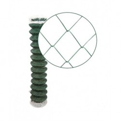 Rouleau Grillage Plastifié Vert Simple Torsion en 1.20 x 25ml
