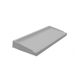 Appui de Fenêtre Préfabriqué Béton ABS1 28.5 x 80 Gris