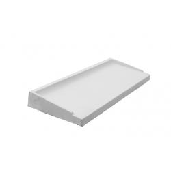 Appuis b ton largeur 35 5 cms blanc didier mat riaux for Appui de fenetre prefabrique