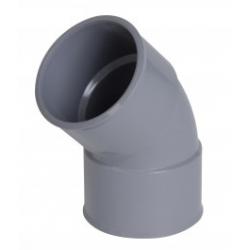 Coude PVC 45° FF Ø40 CH44