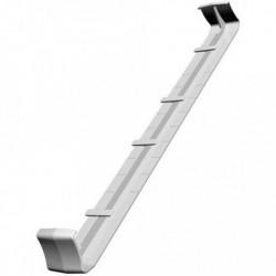 Pièce de Jonction Double pour Bandeau PVC Blanc