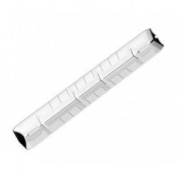 Angle Double Extérieur pour Bandeau PVC Blanc