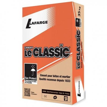 Sac 35 Kgs Ciment Lafarge gris LE CLASSIC 32,5R