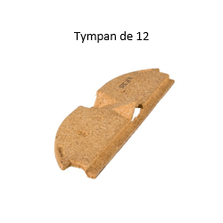 Tympan Obturateur Rectolight pour hourdis de 12