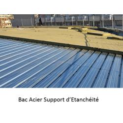 Bac Acier Support Etanchéité