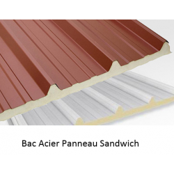 Bac Acier Panneau Sandwich