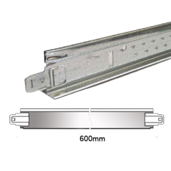 Entretoise Plafond Blanche T24 60cm