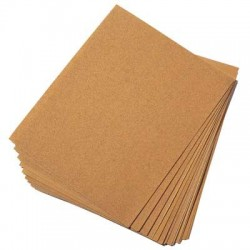 Papier de Verre Silex Grain Fin n°0