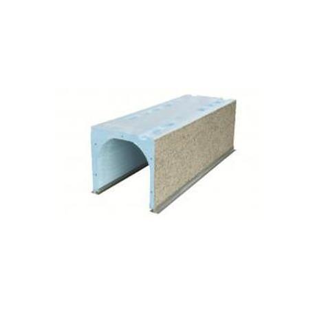 Coffre Volet Fibre Largeur 28 cms x 80 cms