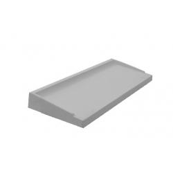 Appui de Fenêtre Préfabriqué Béton ABS3 39.5 x 60 Gris