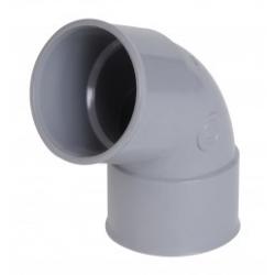 Coude PVC 67° FF Ø40 CH66