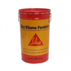 Bidon 30l Sika Bitume Fondation