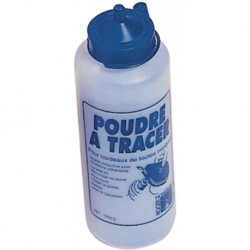 Pot de Poudre à Tracer Cordex 1Kg Bleue