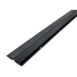 Profilé de Jonction pour lambris PVCGris Anthracite en 3ml