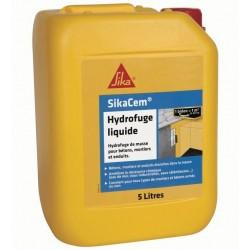 Bidon 5L Sikacem Hydrofuge Liquide