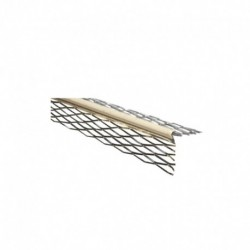 Angle façade déployé 840 EG Avec Jonc PVC Beige en 3ml