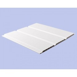 Lame de Lambris PVC Blanc